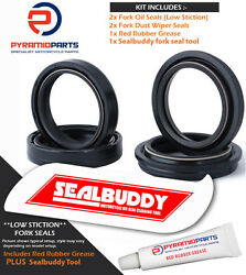 Fork Seals Dust Seals And Tool For Suzuki Gsxr1100 Wp-wr Usd 94-96