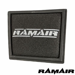 Ramair Replacement Panel Foam Air Cleaner Filter Ford Fiesta Mk7 St180 Ecoboost
