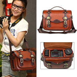 Waterproof Men Women DSLR SLR Camera Shoulder Bag Messenger Bag Handbag Daypack