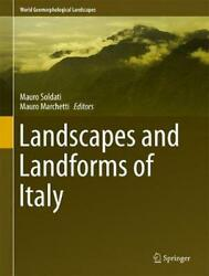 Landscapes And Landforms Of Italy English Hardcover Book Free Shipping