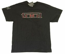 TOOL LA CA Sleeve Red Design Black T Shirt New Official Band Merch 10000 Days