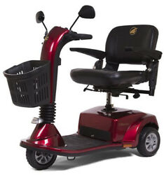 Golden Companion 3 Wheel Mid Size Mobility Electric Scooter 350 Lbs Red 2018 New
