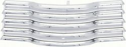 47-53 Chevy Truck Chrome Grille With Chrome Brackets