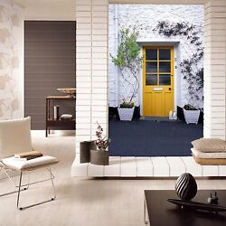 3D White walls yellow window Wall Paper Wall Print Decal Wall Deco AJ WALLPAPER