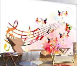 3d Music Colorful Photo 0170 Wall Paper Wall Print Decal Wall Deco Aj Wallpaper
