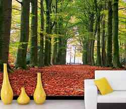 3d Forest Tree Height 0152 Wall Paper Wall Print Decal Wall Deco Aj Wallpaper