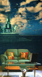 3D Many flying aircraft 342 Wall Paper Wall Print Decal Wall Deco AJ WALLPAPER