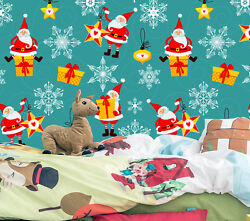 3d Many Father Christmas 567 Wall Paper Wall Print Decal Wall Deco Indoor Wall