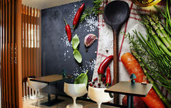 3d Vegetable Carrots 272 Wall Paper Wall Print Decal Wall Deco Indoor Wall