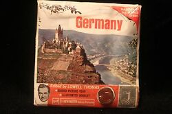 Germany Viewmaster W/stamp Coin 3 Reels And Booklet 1960and039s Black Forest Castle