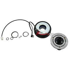 New A/c Ac Compressor Clutch Kit -front Plate Coil And Bearing For Mazda 3 5