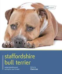 STAFFORDSHIRE BULL TERRIER - NEW PAPERBACK BOOK