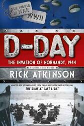 D-day - Atkinson Rick/ Waters Kate Con - New Paperback Book