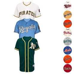Mlb Official Authentic On-field Cool Base Majestic Team Jersey Collection Men's