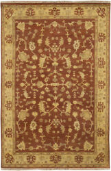 Surya Red Traditional - Persien/oriental Hand Knotted Area Rug Bordered Ant-9702