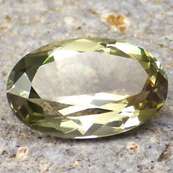 Green Dichroic Oregon Sunstone 8.02ct Flawless-large-amazing Color-investment