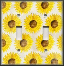 Light Switch Plate Cover - Sunflower Home Decor - Floral Switch Plate Cover 02