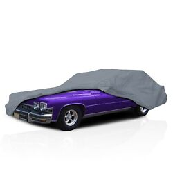 4 Layer Semi Custom Fit Water Resistant Car Cover For Ford Pinto Wagon 1976-1980