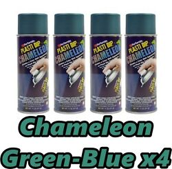 Performix Plasti Dip Chameleon Green to Blue 4 Pack Spray 11oz Aerosol Cans