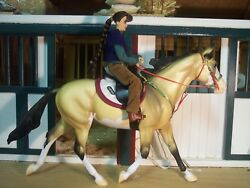 Jaapi SCOUT Endurance tack set for BreyerStone model horses not for real horse