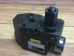 Nice Duplomatic Ppr Right Angle Collet Live Tool Holder W/ 40mm Shank