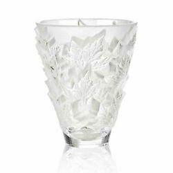 Lalique Crystal Champs-elysees Clear Vase Small 10598400 Brand Nib Save F/sh