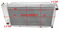 Fits For 71-73 Ford Mustang V8 Mt Aluminum Racing 3 Row Radiator