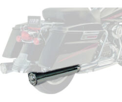 Supertrapp Megashots Exhaust System 2:1:2 Black For Harley-Davidson FLHRTX