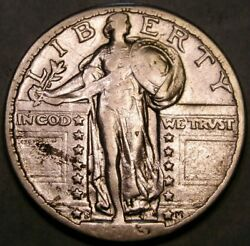 1923 S Liberty Standing Silver Quarter Appealing Semi Key Date Check Store 4more