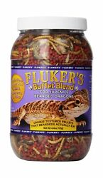 Fluker's Buffet Blend Food for Juvenile Bearded Dragons 8 oz. New Free Shipping