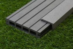 Any Sqm Of Wooden Fake Plastic Composite Decking Inc Boards Edging Fixing Packs