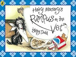 Hairy Maclary's Rumpus At The Vet Hairy Maclary... By Dodd, Lynley Spiral Bound