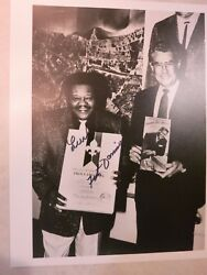 Fats Domino Signed Photo Autographed In Person Coa Album Lp 10 Hall Of Fame