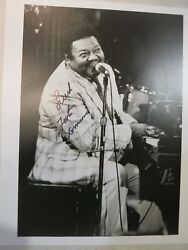 Fats Domino Signed Photo Autographed In Person Coa Album Lp 11 Hall Of Fame