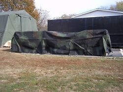 Military Truck Trailer Truck 5 Ton Cover Camo 8 X 20.5 X 4 Fmtv Mtv M1085 Army