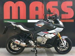Bmw S1000xr Massmoto Exhaust Full System 4in1 Silencer Oval Titanium Carbon Cap