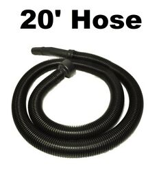 Replacement Hose For Shop Vac / Craftsman / Ridgid Wet And Dry Vac 20 Foot Hose