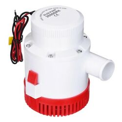 3500gph 12v Electric Marine Submersible Bilge Sump Water Pump For Boat Yacht