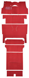 1956 Chevrolet Bel Air Nomad 2dr Wagon Bucket Seat Complete 02 Red Loop
