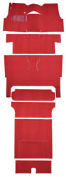 1955 Chevrolet Bel Air Nomad 2dr Wagon Bucket Seat Complete 02 Red Loop