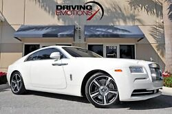 2014 Rolls-Royce Wraith -- 2014 Rolls-Royce Wraith  7442 Miles English White Coupe V12 6.6L Automatic