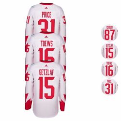 Canada 2016 Nhl Adidas World Cup Of Hockey Premier Player Jersey Men's White