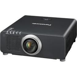NEW Panasonic PT-DZ870UK 1-Chip 8500 Lumens DLP Projector w Lens