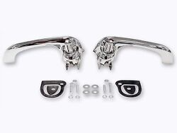 1964-66 1969-70 Ford Falcon Bronco Mustang Outside Door Handles Chrome Best