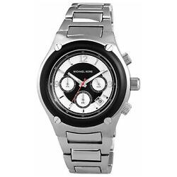 Michael Kors Men's Gents Chronograph Stainless Steel Watch MK8101 - RRP £259.00