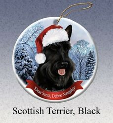 Define Naughty Ornament - Scottish Terrier