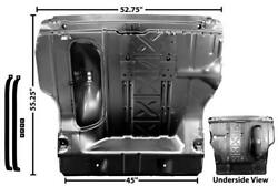 1955-57 Chevy Belair, 150, 210 Convertible Trunk Floor Complete W/spare Tire Cut