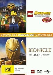 Bionicle: The Legend Reborn  Lego: The Adventures of Clutch Powers = NEW DVD R4