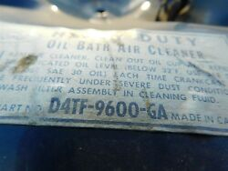 Nos 1974 Ford F100 F250 F350 360 390 Fe Engine Air Cleaner Assembly D4tz-9600-g