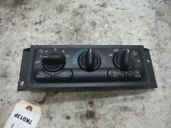 2002 CHEVY VENTURE VAN 3.4L CLIMATE CONTROL SWITCHES OEM 2000 2001 2003 2004